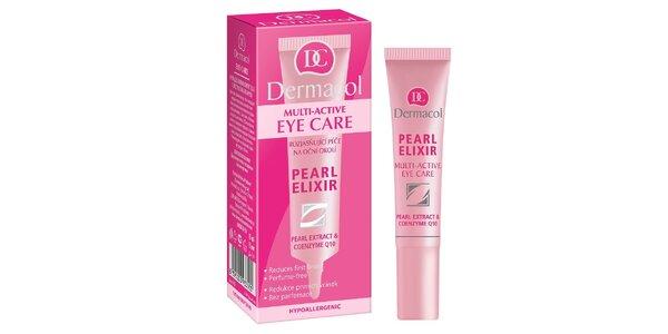 Dermacol Pearl Elixir - rozjasňující péče na oční okolí s perlovým výtažkem 15ml