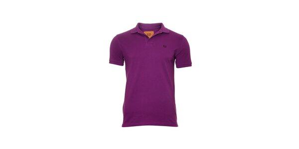 Pánské polo tričko značky Bendorff ve fialové barvě