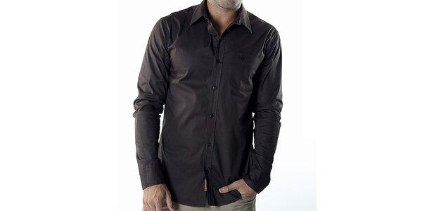 Pánská hnědá casual košile Bendorff