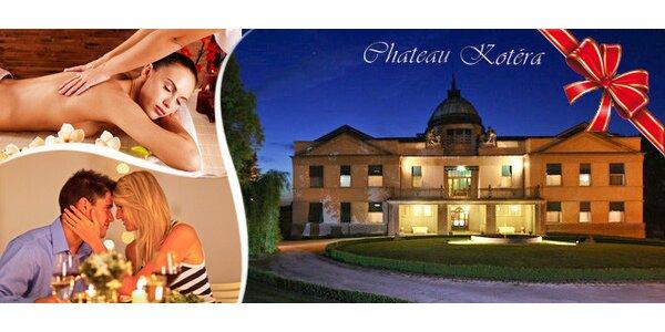 Romantický pobyt pro dva v Chateau Kotěra****