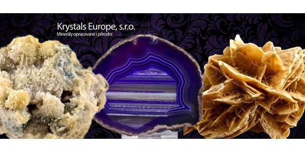 Otevřený voucher na nákup léčivých krystalů