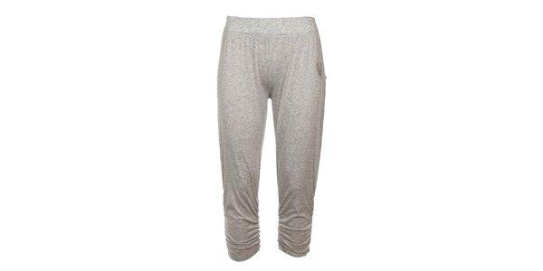 Dámské šedé 3/4 domácí kalhoty Tom Tailor