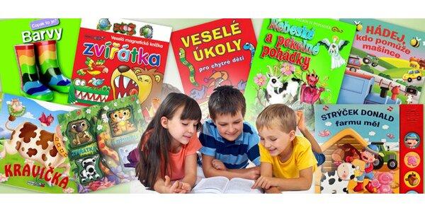 Oblíbené interaktivní knížky pro děti od nakladatelství Rebo