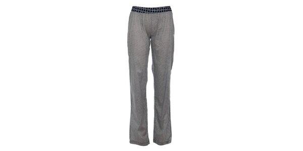 Dámské tmavě modré pyžamové kalhoty s potiskem Tom Tailor