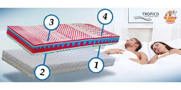 Výprodej matrací Tropico Imperial – 4 tuhosti v 1 matraci