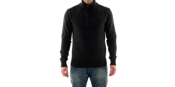 Pánský tmavě šedý svetr Catbalou