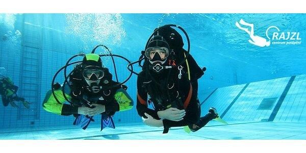 Potápěčský kurz OWD, AOWD a JOWD