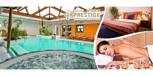 3denní hýčkání pro dva v hotelu Prestige**** ve Znojmě