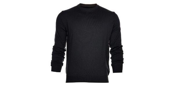 Pánský antracitový svetr Calvin Klein