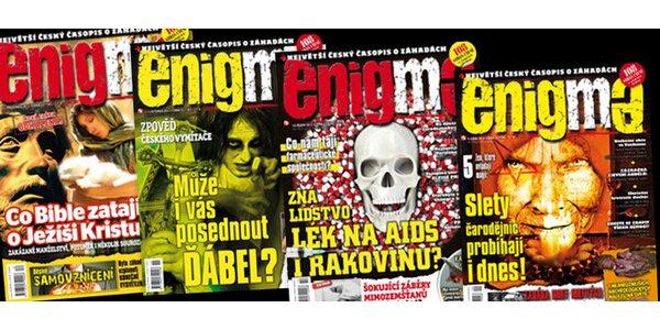 Pololetní předplatné časopisu Enigma + bonusy