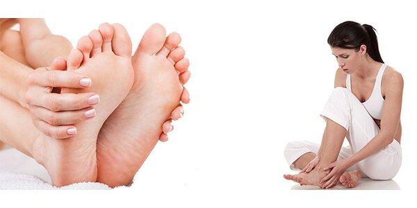 Reflexní masáž plosek nohou