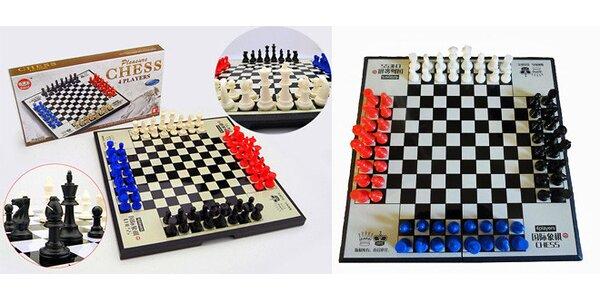 Šachy pro 4 hráče – zažijte pořádnou bitvu