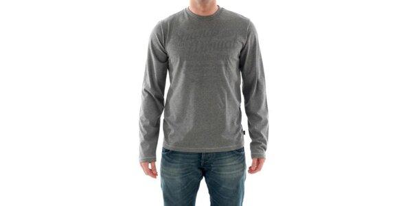 Pánské šedé tričko Hammersmith