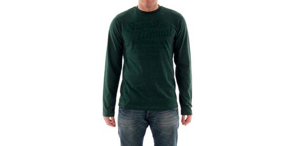 Pánské lahvově zelené tričko Hammersmith