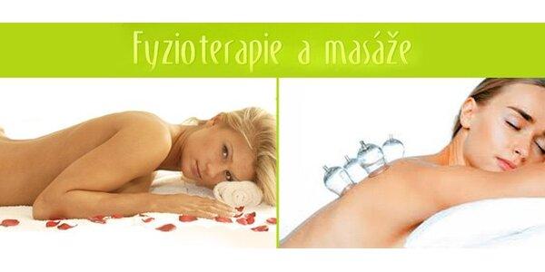 210 Kč za klasickou masáž zad s baňkováním v hodnotě 420 Kč se slevou 50%.
