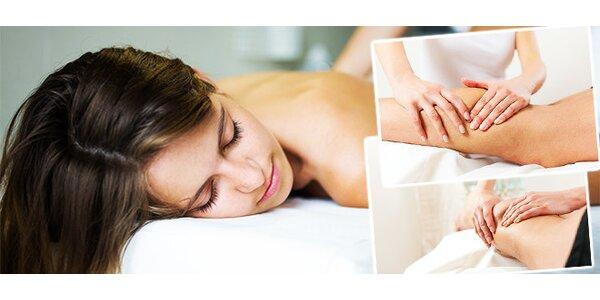 Vánoční dárek - ruční lymfatická masáž a anticelulitidový zábal