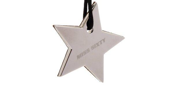 Dámský ocelový náhrdelník Miss Sixty hvězda