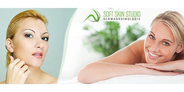Kompletní kosmetické ošetření pleti bio active kosmetikou