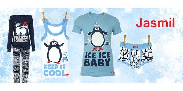 Vtipné prádlo s tučňákem pro každého