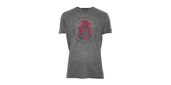 Pánské bavlněné triko značky Rare v khaki barvě