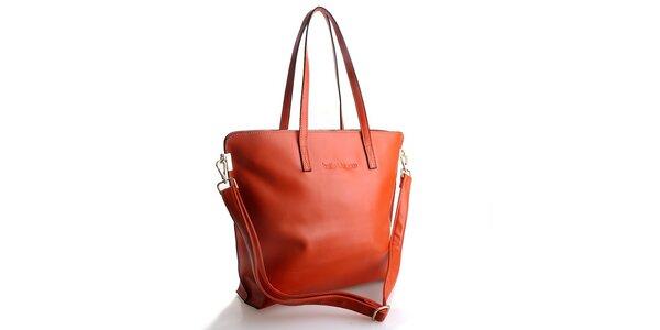 Dámská oranžová kabelka Belle & Bloom