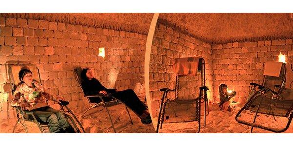Vstup do Solné jeskyně v Turnově pro 2 osoby na jednu proceduru