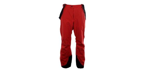 Pánské červené sjezdové kalhoty Blizzard se šlemi