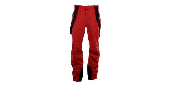 Pánské červené lyžařské kalhoty Blizzard se šlemi