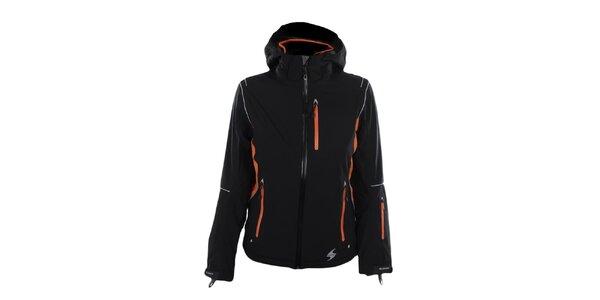 Dámská černo-oranžová funkční bunda Blizzard