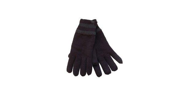 Pánské černé rukavice Dockers