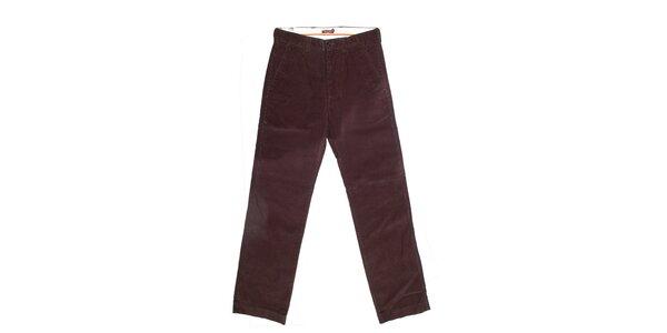 Pánské hnědé kalhoty Dockers