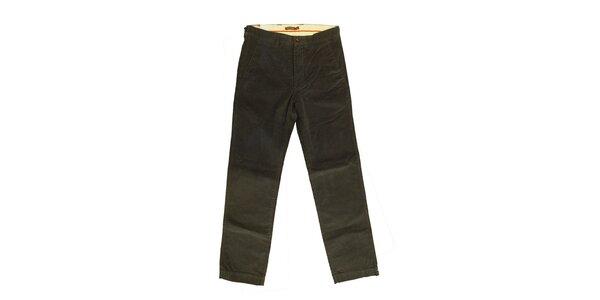 Pánské šedozelené kalhoty Dockers