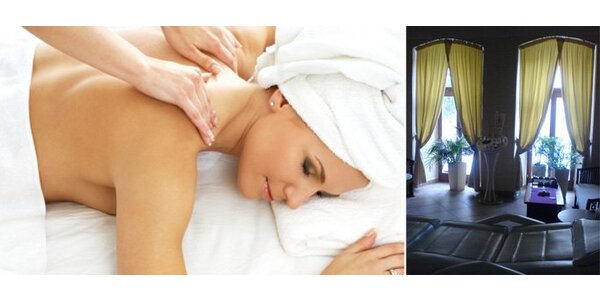 """260 Kč za relaxační aroma masáž zad a šíje """"No stress"""". Sleva 50%."""
