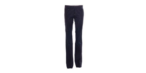 Elegantní dámské kalhoty značky Rare s jemným proužkem