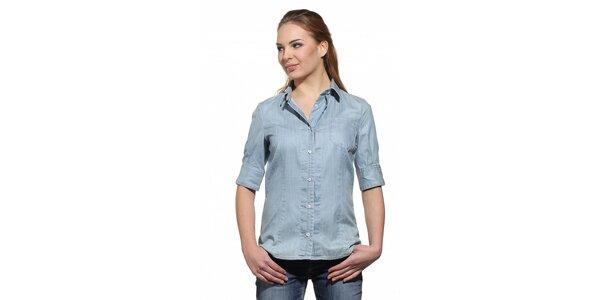 Dámská světle modrá džínová košile Replay
