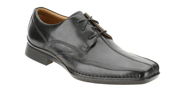 Černé společenské boty Clarks