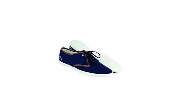 Pánské indigově modré tenisky Lacoste