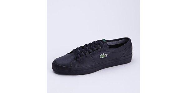 Pánské černé tenisky Lacoste