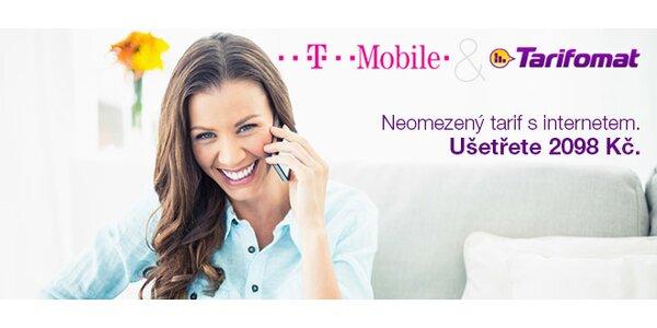 Neomezeny tarif T-Mobile s 3 měsíci zdarma od Tarifomatu