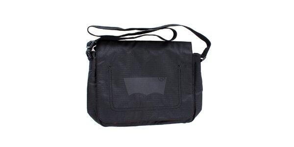 Dámská černá taška přes rameno Levis