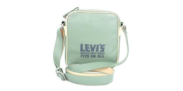 Dámská mentolově zelená kabelka Levis