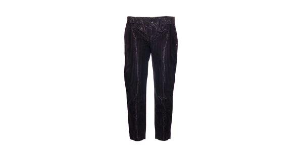 Elegantní dámské ¾ kalhoty značky Rare s proužkem