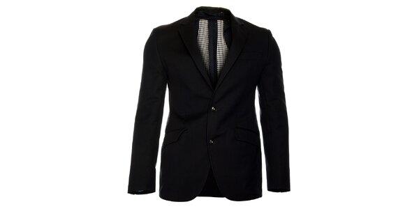 Pánské černé sako Roberto Verino