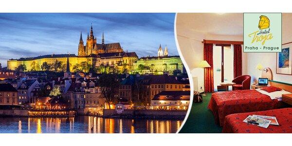 1 nebo 2 noci v pražském hotelu Troja****