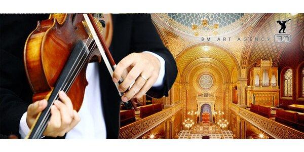 Koncerty ve Španělské synagoze - krásný dárek!