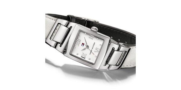 Dámské bílé náramkové hodinky Tommy Hilfiger