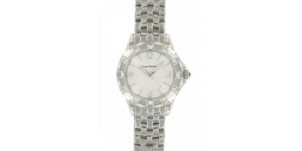 Dámské ocelové hodinky Yves Bertelin s kamínky