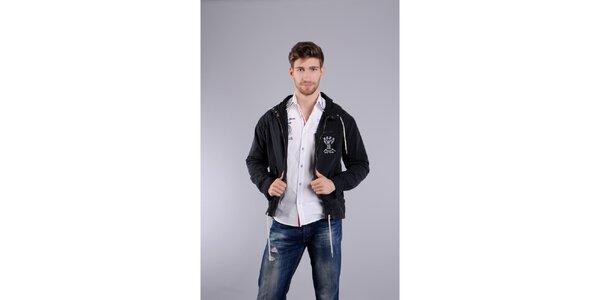 Pánská černá jarní bunda Giorgio di Mare