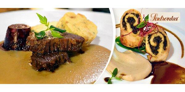 7chodové menu pro dva v Gourmet restaurantu Ladronka