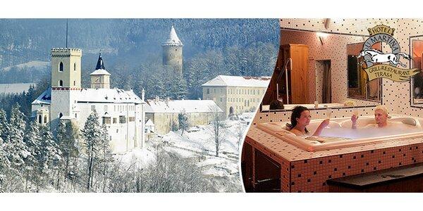 Silvestr nebo lyžování v Rožmberku nad Vltavou